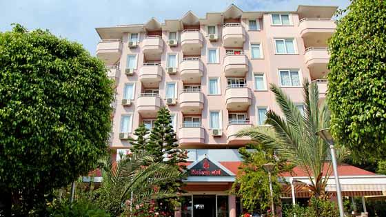 3 Sterne  jugendreisen Aska Hotel Kleopatra Beste in Alanya