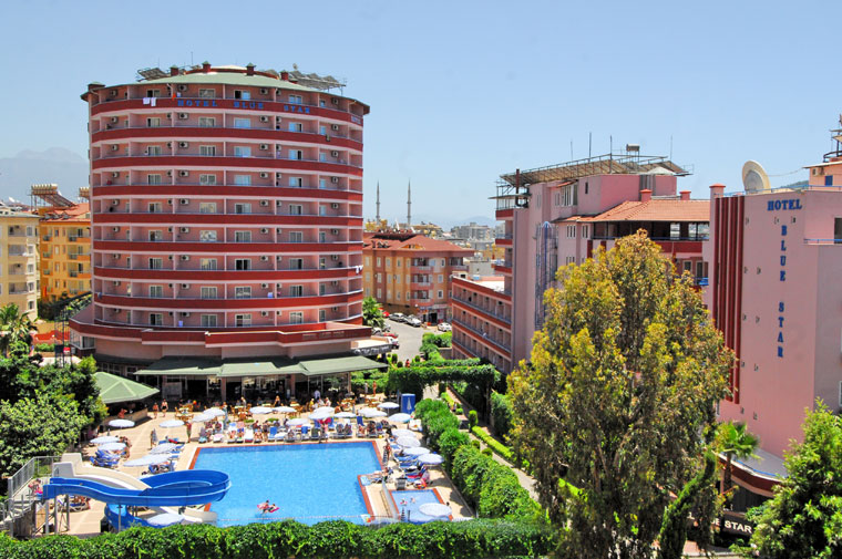 4 Sterne  Hotel Blue Star in Alanya - Ansicht 1