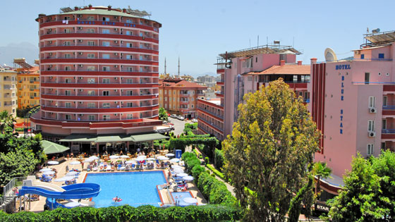 4 Sterne  jugendreisen Blue Star in Alanya