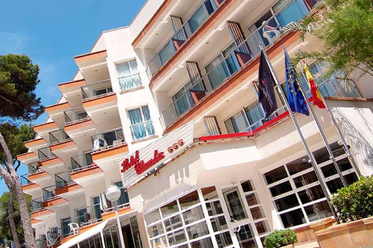 3 Sterne  Hotel Clumba in Cala Ratjada - Ansicht 1