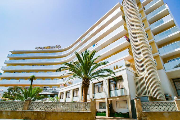 3 Sterne  Hotel Bon Repos in Calella - Ansicht 1