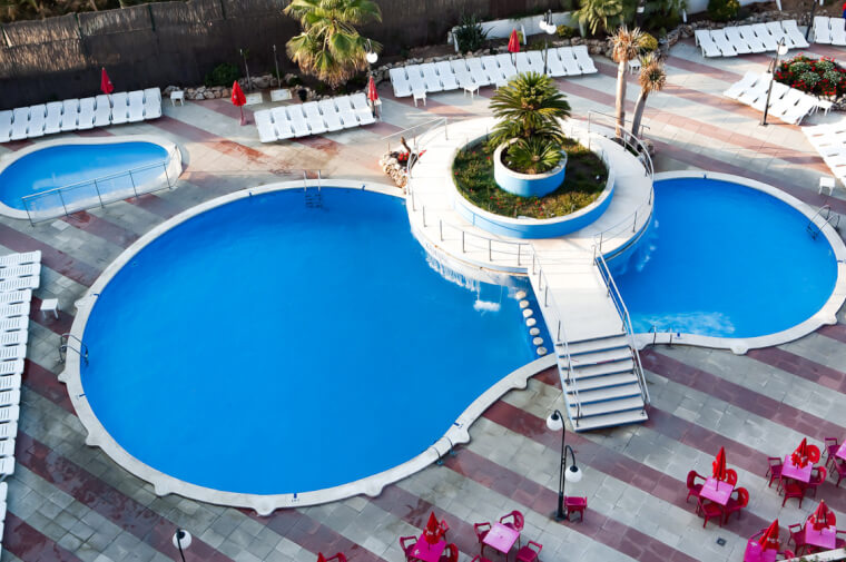 3 Sterne  Hotel H.TOP Olympic in Calella - Ansicht 1