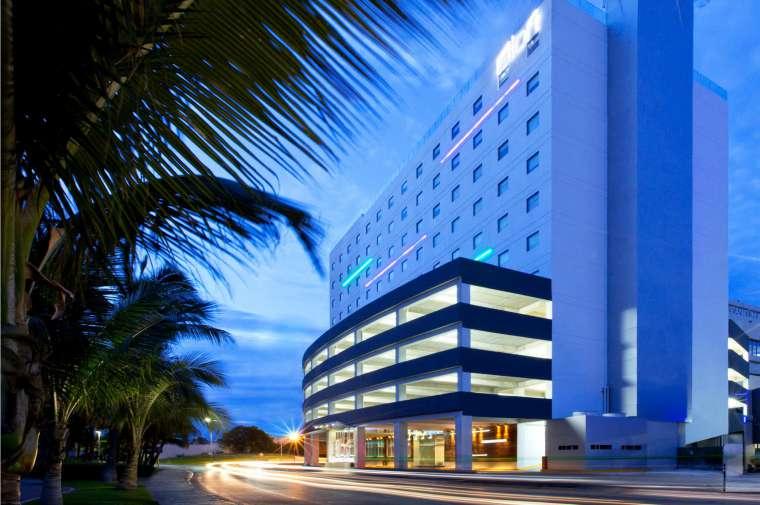 4 Sterne  Hotel Aloft in Cancún - Ansicht 1