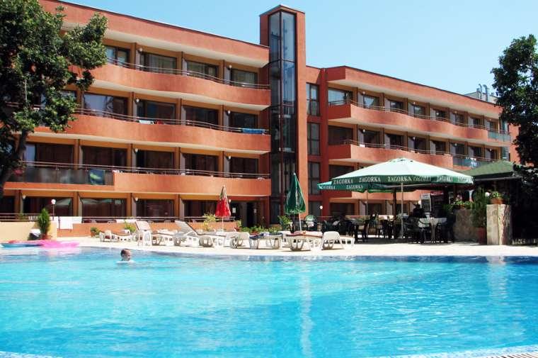 3 Sterne  Hotel Kamchia  in Goldstrand - Ansicht 1