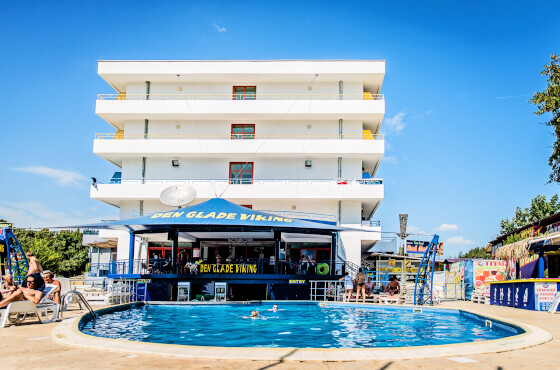 3 Sterne  jugendreisen PartyHotel Golden Sands in Goldstrand