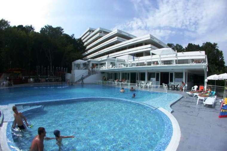 3 Sterne  Hotel Pliska in Goldstrand - Ansicht 1