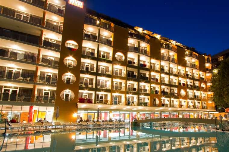 4 Sterne  Hotel Viva Club in Goldstrand - Ansicht 1