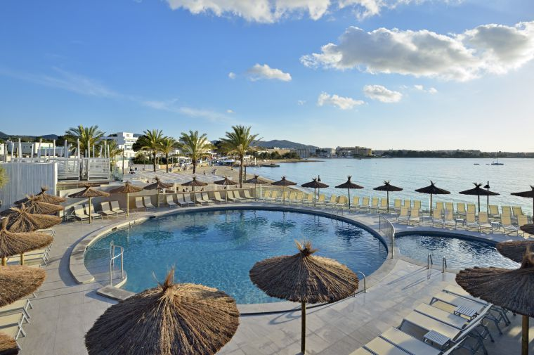 4 Sterne  Hotel Intertur Hawaii in Ibiza - Ansicht 1
