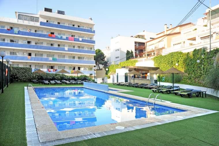 3 Sterne  Hotel Evenia Montevista in Lloret de Mar - Ansicht 1