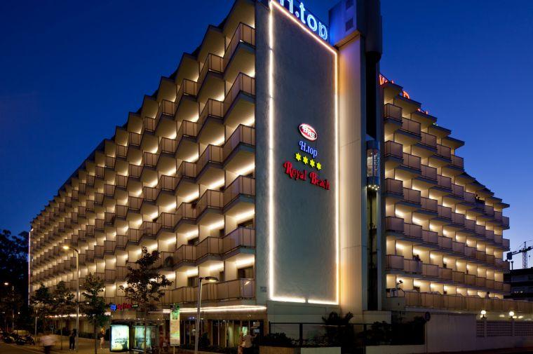 4 Sterne  Hotel H·TOP Royal Beach in Lloret de Mar - Ansicht 1