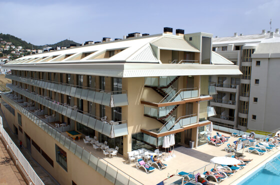 4 Sterne  maturareisen Apartments Odissea Park in Malgrat de Mar