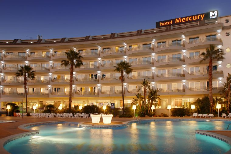 4 Sterne + Hotel Mercury in Malgrat de Mar - Ansicht 1