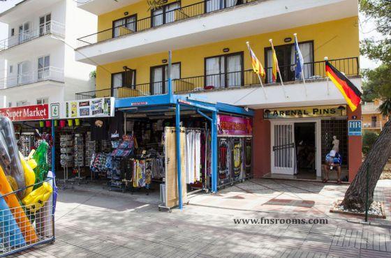 1 Sterne  abireisen Arenal Pins in Mallorca