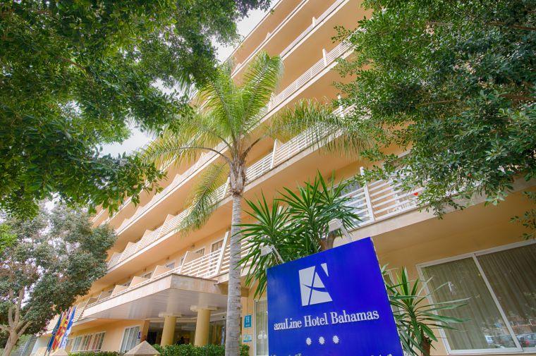 3 Sterne  Hotel Bahamas in Mallorca - Ansicht 1