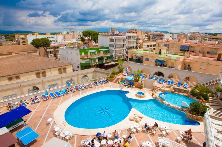 3 Sterne  Hotel Kilimanjaro in Mallorca - Ansicht 1