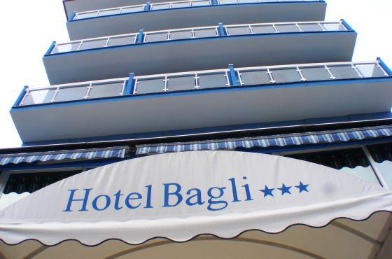 3 Sterne  jugendreisen Bagli/Cristina in Rimini