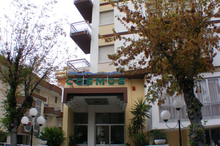 3 Sterne  Hotel Cosmos in Rimini - Ansicht 1