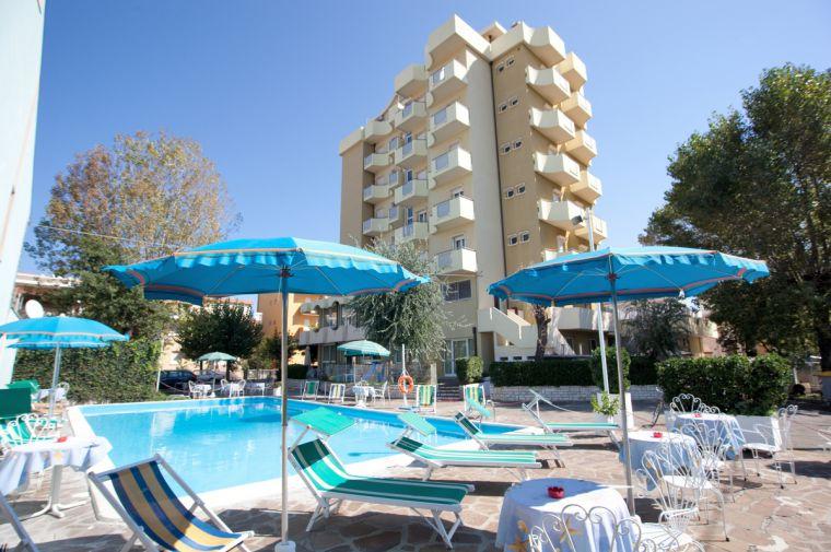 3 Sterne  Hotel Oceanic in Rimini - Ansicht 1